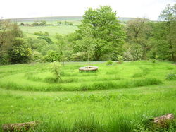 Natural Burial Circle in West Pennines, UK